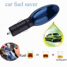 New Portable Car Fuel Saver Save On TV Gas Fuel Economizer Engine Protector Reduce Emission Plastic Blue Black Car Accessories(China)