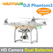 DJI Phantom 3 Four-axle Flyer HD High Definition Camera Quadcopter Advanced Version with Extra Battery