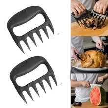 1Pcs/1Pair  Bear Meat Claws Handler Barbecue Fork Tongs Pull Shred Pork BBQ Barbecue Tool Outdoor Kitchen Cooking Tool