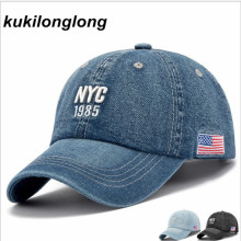 kukilonglong demin 2017 letter baseball cap for men snapback caps caquette hats for women fashion hip hop gorras dad hats boys(China)