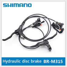 Buy SHIMANO BR-M315 Mountain Bicycle Hydraulic Disc Brake Set Front Rear Brake Set Bike Parts MTB Oil Disc Brake Set for $49.63 in AliExpress store