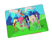 Adventure Time mouse pad  HD pattern game pad to mouse notebook computer mouse mat brand gaming mousepad gamer laptop