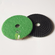 "5 pieces 4"" P50 Wet Flexible Stone Polishing Pad Floor Coarse Grinding Disc Angle Grinder Wet Polisher Tool"