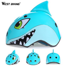 WEST BIKING Kid Cycling Helmet EPS+PC Road Bike MTB Breathable Ultralight Helmets Safety Ciclismo Helmet Bicycle Equipment(China)