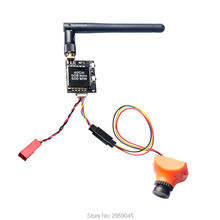 AKK 600mW FPV Transmitter with 600TVL 2.8MM 120 Degree High Picture Quality Sony CCD Camera for FPV Multicopter KC02
