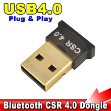 USB 2.0 Bluetooth Version 4.0 Adapter Wireless Dongle EDR Adaptor 1-100M Rate 3Mbps for Laptop Notebook Tablet PC Computer