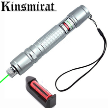 High Power Laser Pointer 5mW Green Hang-type Outdoor Long Distance Laser Sight Lazer  Free Shipping