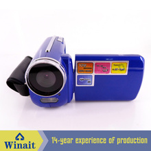 Winait DV-139 Hot sell best buy 1.8 TFT  4X Digital zoom DVR max12mp Camcoder HD720P mini digital video camera Russian