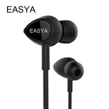 EASYA Professional Earphones Waterproof Headphones Heavy Bass Sound HiFi Headset Earbuds With Mic For Phone MP3 Dropshipping