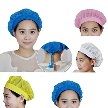 Chef Hat Baker Cook Cap Breathable Adjustable Dust Cap Catering Restaurant Accessories Work Uniform Kitchen Cap Food Service