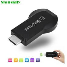 Mirascreen OTA TV Stick Smart TV Dongle HD 1080P Video Receiver Displayer DLNA Airplay Miracast Airmirroring PK Chromecast(China)