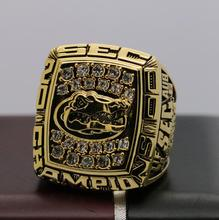 2000 FLORIDA GATORS SEC NCAA FOOTBALL National Championship Ring 7-15 Size COPPER SOLID ONE