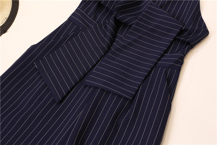 Summer Stripe Camisole Jumpsuit Women V-neck Striped Sexy High Waist Wide Leg Pants Office Ladies Red Black Overall Bodysuit 96 Online shopping Bangladesh