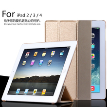 For Apple iPad 2/ipad 3 10.1 inch Smart Sleep Case Cover, Ultra Slim Designer Tablet Leather Cover For iPad 4 Case
