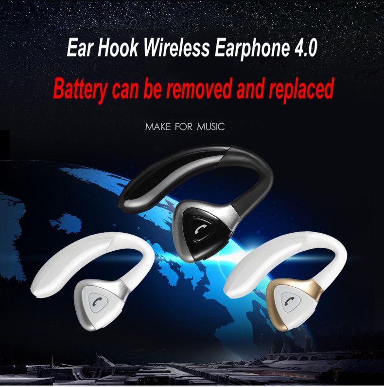 2017 Wireless Bluetooth Headphones Voice Prompt Enhanced Bass Stereo Earphone Headset Multi-point Tech Mic Battery for Phones<br><br>Aliexpress