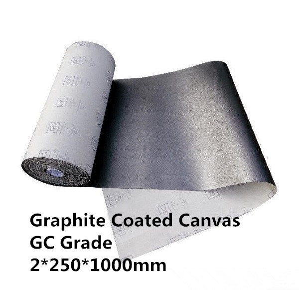 FREE SHIPPING   GC Graphite Coated Canvas Rolls    GC22501000   ,  for  metalworking industry<br>