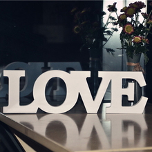 Wedding Big Size LOVE Photographic background Stereo White LOVE Letters Wedding Party Props 31 CM Home Decor Accessory