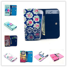 For HTC Wildfire S G13 A510e Case Painting Universal Purse Cover for HTC G13 Wallet Flip Leather Case Phone Bag