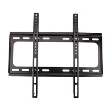 "Domestic service 1PC Wall Mount TV Bracket Slim Flat Holder Rack LCD LED 26 32 39 40 42 47 48 50 55"" Inch Black(China)"