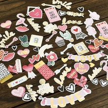 70pcs Be Mine Colorful Cardstock Die Cuts for Scrapbooking/Card Making/Journaling Project DIY Craft