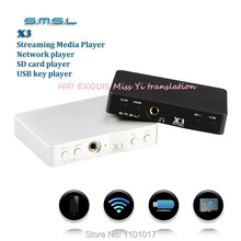 SMSL X3 WIFI & Steaming Media & USB card player HIFI EXQUIS 2014 december new portable Lossless format  player
