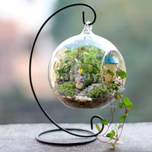 New Hot Sale 9 inch White Iron Hanging Plant Stand Holder for Landscaping DIY Creative Garden Party Home Decorate Free Shipping