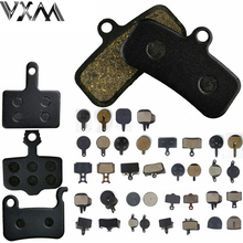 VXM 4 Pairs Bicycle Disc Brake Pads Semi-metal MTB Bike brake pads for SHIMAN0 AVID HAYES TEKTRO Magura Formula Bicycle P(China)