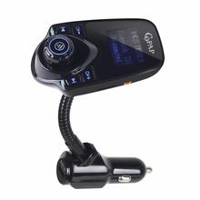 Car Wireless Bluetooth FM Transmitter Modulator HandsFree Radio Car Kit USB Charger Mp3 Player for iPhone Samsung T10(China)