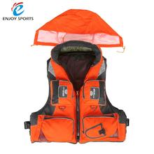 Professional Adult Life Jacket Fishing Polyester Adult Safety Life Jacket Survival Vest Swimming Boating Drifting Ski Foam Vest