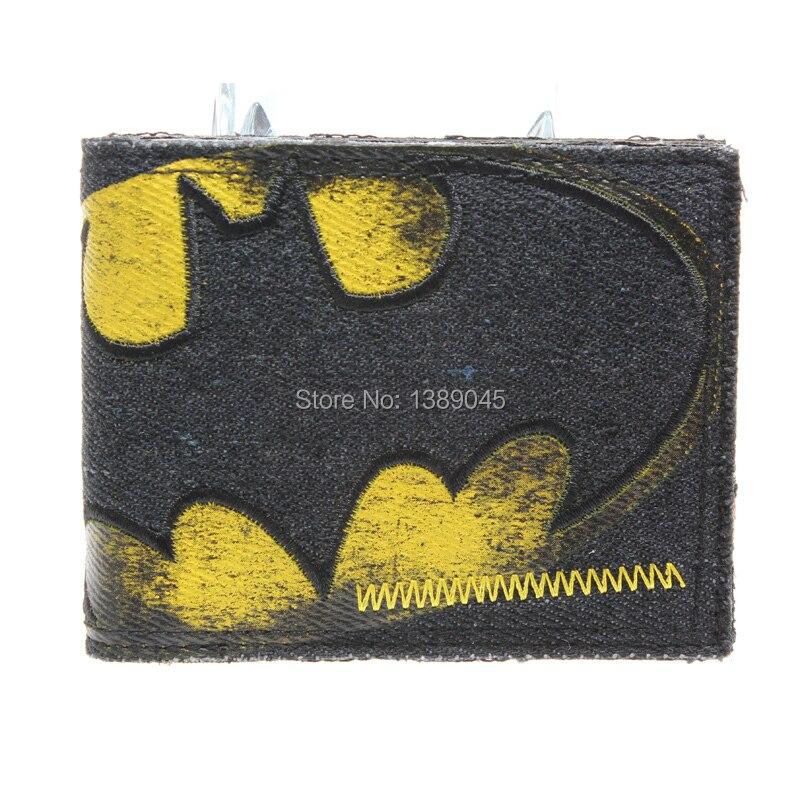 Batman - Vintage Logo Synthetic Leather Wallet - Billfold DFT-1206<br><br>Aliexpress