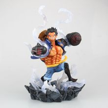 J.G Chen Anime One Piece POP Gear Fourth Monkey D Luffy PVC Figure Collectible Model Toy 26cm Anime Decoration