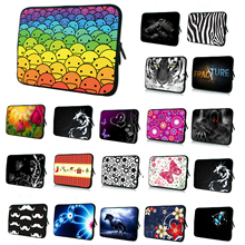 "13"" Waterproof Neoprene Laptop Bags For Apple Samsung Lenovo Acer 12.8 13.3 Inch Netbook Notebook Fashion Protector Bag Retail(China)"