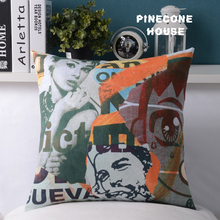 Audrey Hepburn Pillowcase Faux Leather Velvet Pillow Covers Art Cushion Cover(China)
