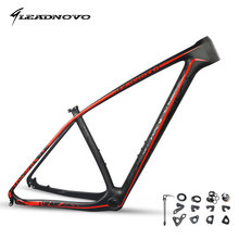 LEADNOVO 2017 950g 29 mtb carbon bike frame mountain bicycle frameset bicicletas mountain bike 29 chinese carbon frames