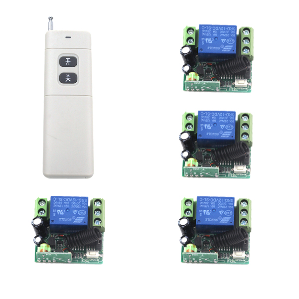 MITI-RF Wireless Remote Control Switch DC 12V 315/433 10A 1000M remote System working out with Latched SKU: 5375<br><br>Aliexpress