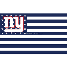 Us America Design New York Giants Flag Banners Football Team Flags 3x5 Ft Super Bowl World Champions Banner Decoration 100D