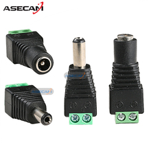 Buy 20PCS 12V 2.1*5.5mm DC Power Male Plug Jack Adapter Connector Plug Female Plug CCTV Security Camera Accessories LED Light for $7.72 in AliExpress store