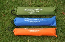 FREESHIPPING Naturehike Tent Tarp Waterproof PU Coating PU High Quality 210T Oxford Material Camping Picnic Beach Tent Roof Tarp