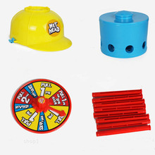 Water Roulette Game Wet Head Challenge Fun Hat Toy Family Party Prank Games Gags Practical Jokes Toys Funny Gadgets For Kid Gift