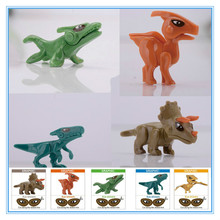 1pcs/The latest model of intelligence assembled dinosaur toys, children's plastic assembly model toys.