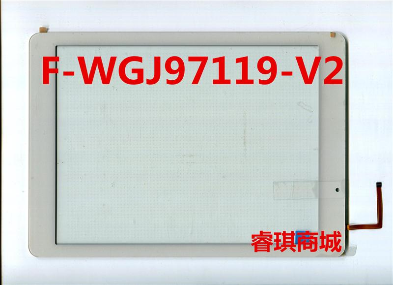 9.7 inch black in stock F-WGJ97119-V2 tablet pc touch screen panel  Digitizer Glass sensor replacement F-WGJ97119 WGJ97119<br><br>Aliexpress