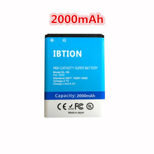 2000mAh bl 5b BL-5B Battery Mobile Phone Battery Batteries for NOKIA 5300 5320 6120c 7360 6120ci 3220 3230 5070(China)