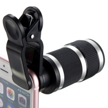 Buy 8x Optical Zoom Lens Telescope HD Phone Camera Telescope Lens Clip Universal iPhone Android Mobile Phones Lens for $8.51 in AliExpress store