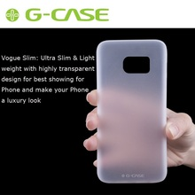 G-CASE for Galaxy S 7 edge Hard Bag Cover Purify Series for Samsung Galaxy S7 edge G935 Slim Translucent PC Cover