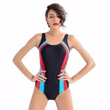2017 One Pieces Arena Swimwear Competition Swimsuit Women Competitive Bathing suit training swimming pants Bodysuit Brief Black