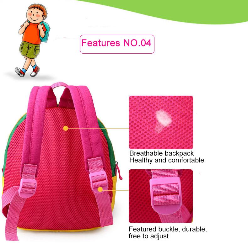 Korean Style Children Toddler Cartoon Stuffed Plush Backpacks baby girls boys cute toys schoolbag backpack (10)