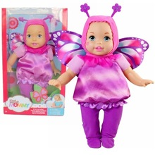 38cm Butterfly girl Little Mommy baby doll Fragrant Boneca doll toy figure toy