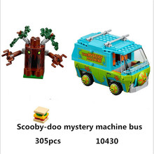 10430 Compatible Lepin Scooby Doo Figures Mystery Machine 75902 Building Bricks Toys Children - Fun Of Blocks Store store