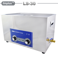 Limplus Large Capacity 30L 8gallon Industrial Ultrasonic Cleaner  Bath 600W AC110/220 Stainless Steel Ultrasonic Washing Machine