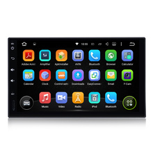 2din 7 inch Android 5.1 lollipop HD full touch screen Quad core Car DVD(no) Player autoradio 4G video GPS navi system universal